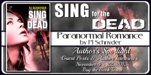 Tour Banner - Sing for the Dead