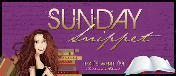 Sunday Snippet: Cooking with Kandy by Peggy Jaegar