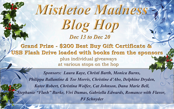Mistletoe Madness Part 2: the blog hop
