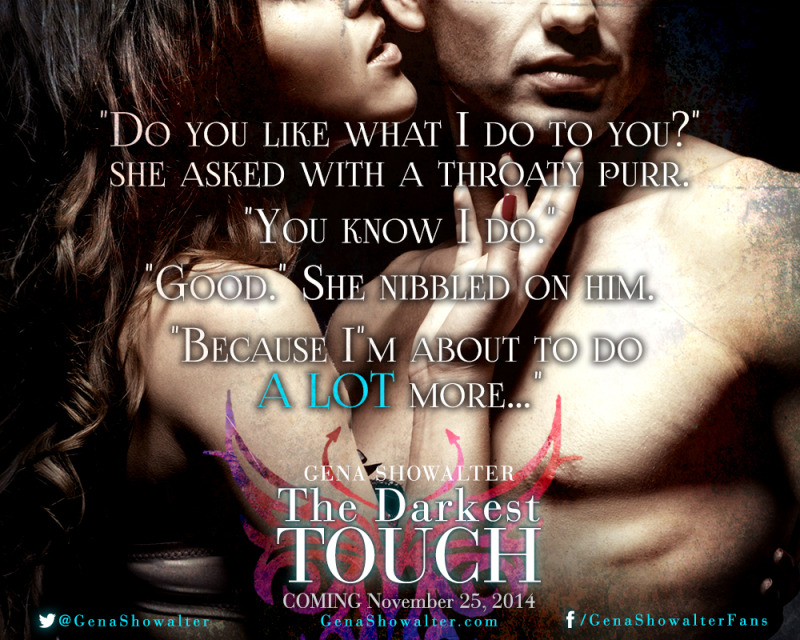 Book Spotlight: The Darkest Touch by Gena Showalter