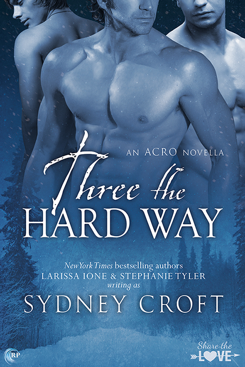 Blog Tour + Giveaway: Three the Hard Way by Sydney Croft