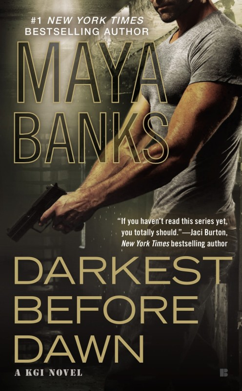 Release Day Spotlight + Excerpt: Darkest Before Dawn by Maya Banks