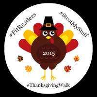 #FitReaders #ThanksgivingWalk #StrutMyStuff