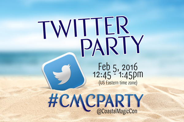 Tweet at the Beach with us at #CMCparty!