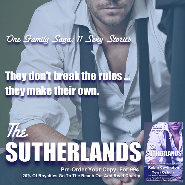 Book Spotlight + Giveaway: The Sutherlands Anthology