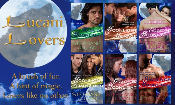 Lucani Lovers Series by Stephanie Julian