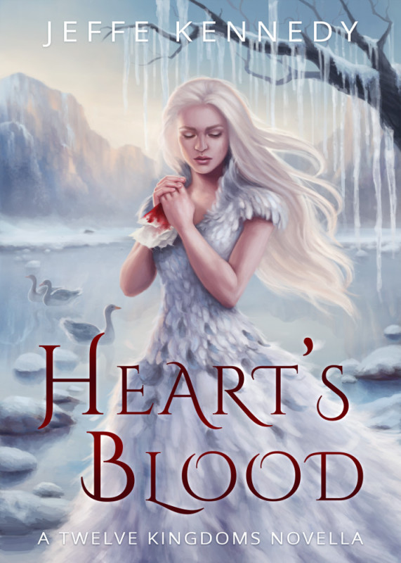 Cover Reveal + Release Day Spotlight: Heart's Blood by Jeffe Kennedy