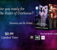 Guest Post + Spotlight: Rulers of Darkness box set by Amanda J. Greene