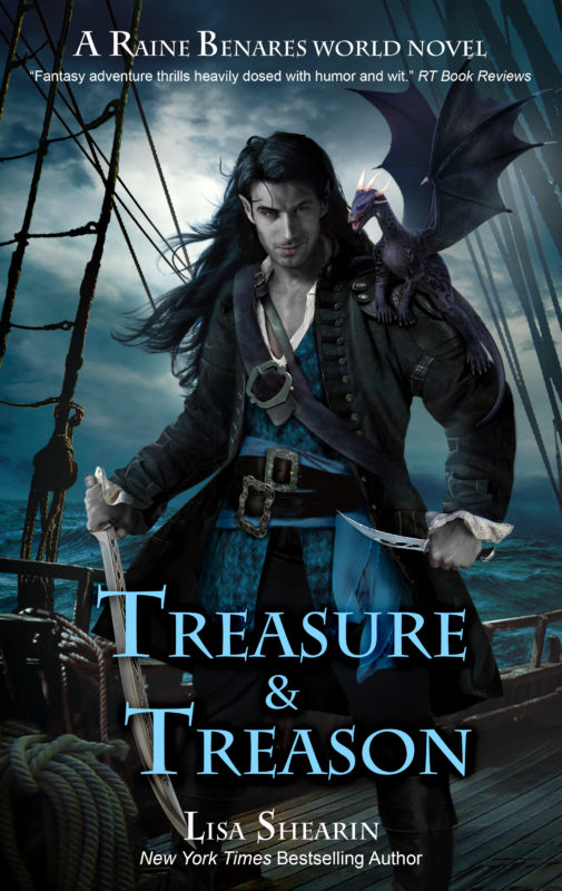 Book Spotlight: Treasure & Treason by Lisa Shearin