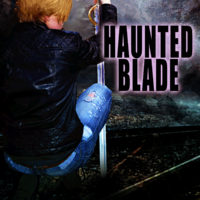 Cover Reveal: Haunted Blade by J.C. Daniels