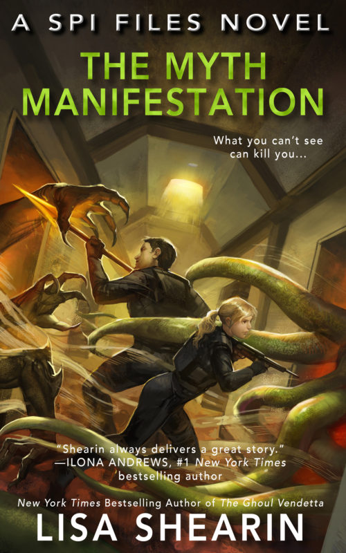 Release Day Spotlight: The Myth Manifestation by Lisa Shearin