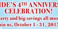 Celebrating Riptide's 4th Anniversary!