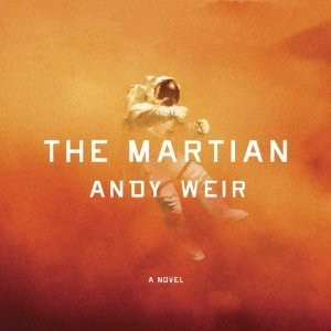 Audiobook cover of The Martian by Andy Weir