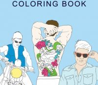 Spotlight + Giveaway: Hot Dudes Coloring Book by D.C. Taylor