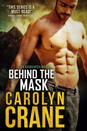 Book cover of Behind the Mask by Carolyn Crane