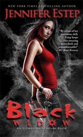 Book cover of Black Widow by Jennifer Estep