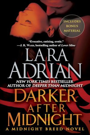 Book cover of Darker after Midnight by Lara Adrian
