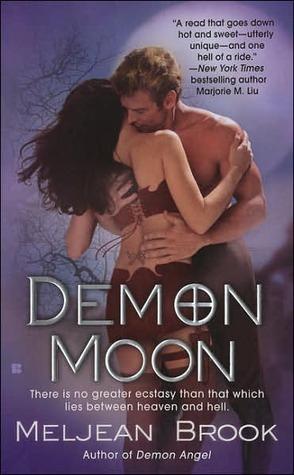 Book cover of DEMON MOON by Meljean Brook