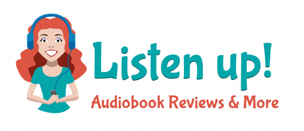 Blog Header for Listen Up! with graphic of girl using headphones