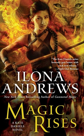 Book Cover of Magic Rises by Ilona Andrews