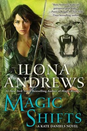 Book cover of Magic Shifts by Ilona Andrews