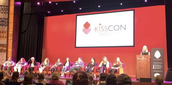 image of authors at KissCon panel