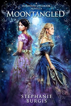 Book cover of Moontangled by Stephanie Burgis