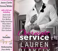 Listen Up! #Audiobook Review: Overnight Service by Lauren Blakely