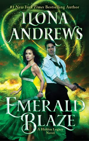 book cover of Emerald Blaze by Ilona Andrews