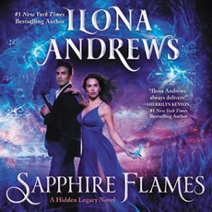 Image of Sapphire Flames audiobook