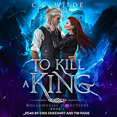 Audiobook Cover of To Kill a King