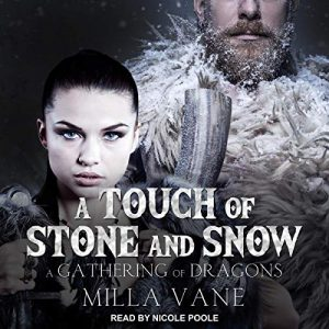 Audiobook Cover: A Touch of Stone and Snow by Milla Vane
