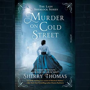 audiobook cover of Murder on Cold Street by Sherry Thomas