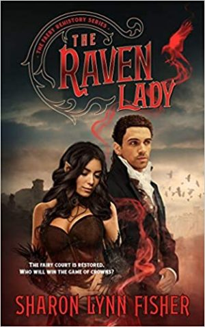 Book cover of The Raven Lady by Sharon Lynn Fisher