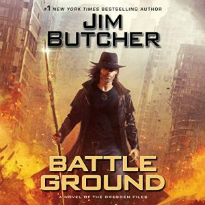 Audiobook cover: Battle Ground by Jim Butcher