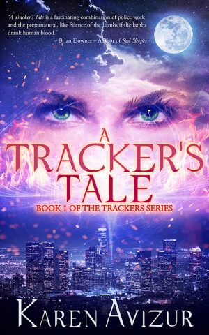 Book Cover of A Tracker's Tale by Karen Avizur