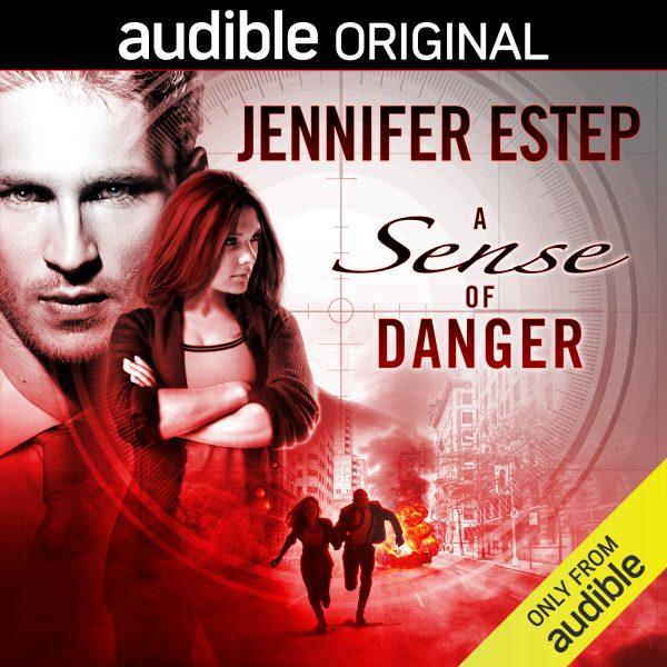 audiobook cover of A Sense of Danger by Jennifer Estep