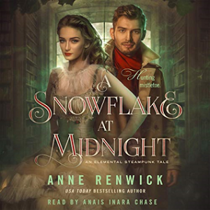 Audiobook cover of A Snowflake at Midnight by Anne Renwick