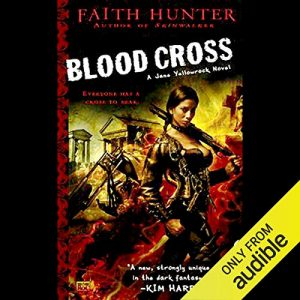 audiobook cover: Blood Cross by Faith Hunter