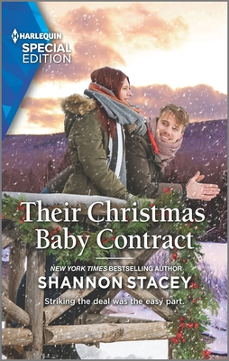 Book cover: Their Christmas Baby Contract