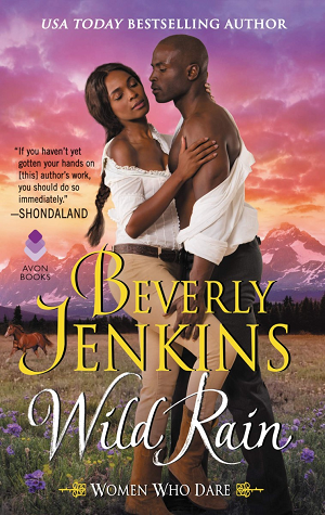 Book cover of Wild Rain by Beverly Jenkins