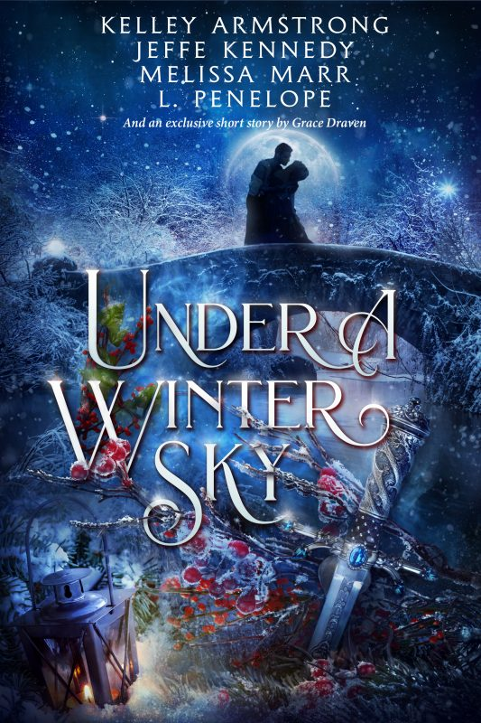 Book Cover: Under a Winter Sky Anthology