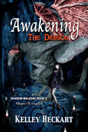Book Cover of Awakening the Dragon by Kelley Heckart