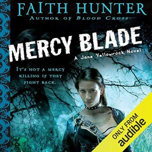 Audiobook cover of Mercy Blade by Faith Hunter