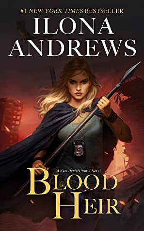 Book Cover: Blood Heir by Ilona Andrews