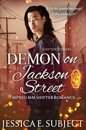 Book Cover of Demon on Jackson Street by Jessica E. Subject