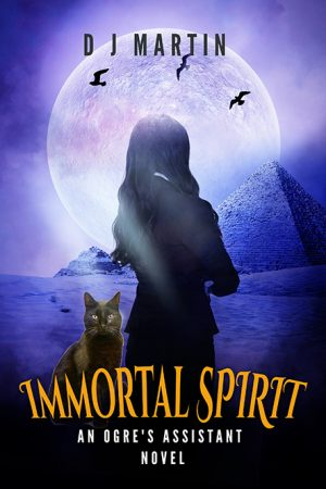 Book cover of Immortal Spirit by DJ Martin