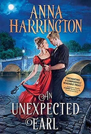 Book cover of An Unexpected Earl by Anna Harrington