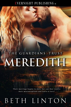 Book cover of MEREDITH by Beth Linton