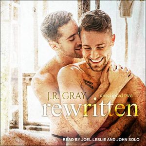 audiobook cover of REWRITTEN by J.R. Gray